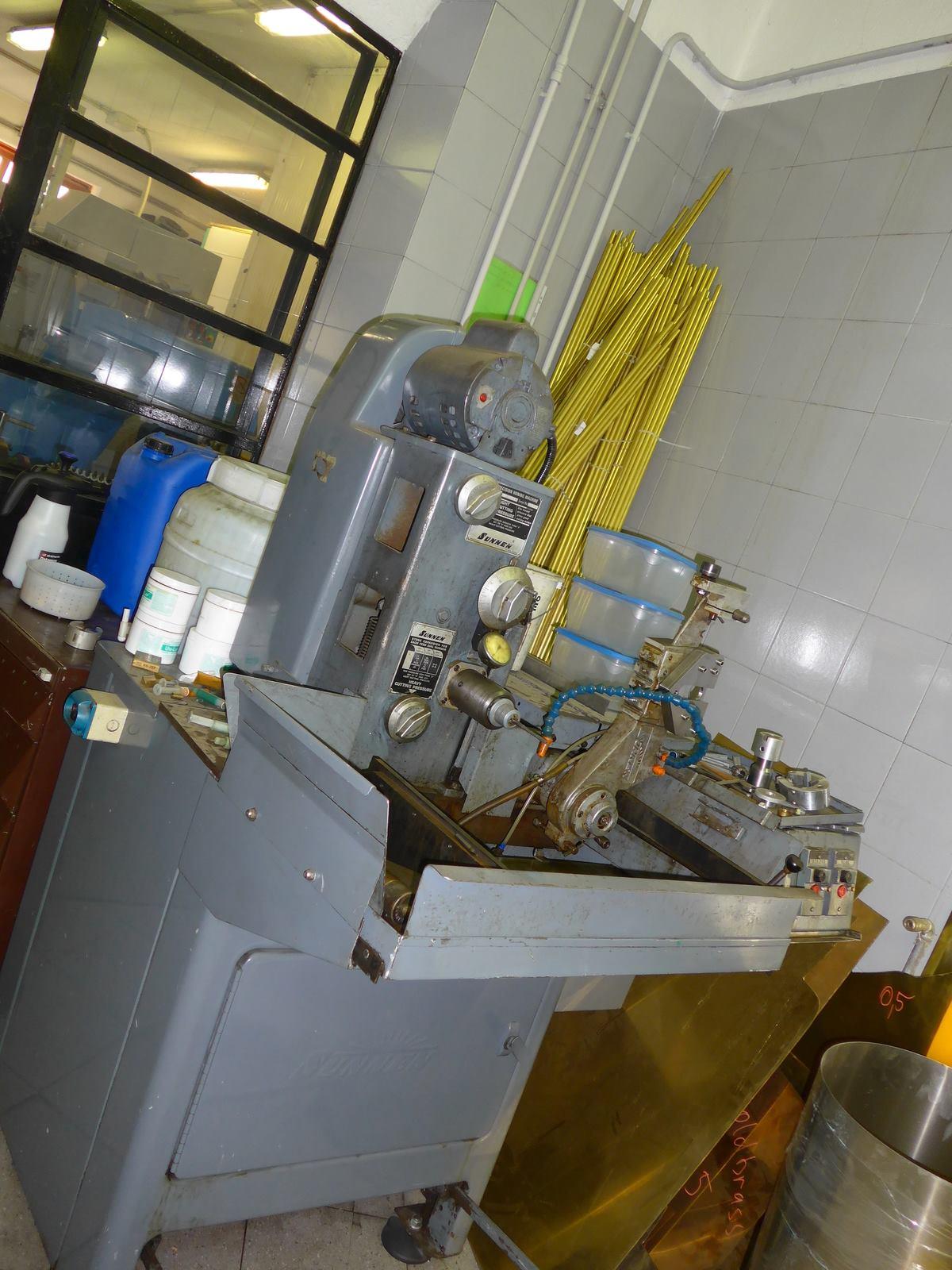 sunnen honing machine