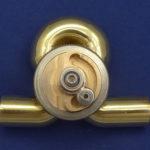 Rotary valve trumpet quater tone